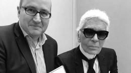 Berührende Momente mit Karl Lagerfeld