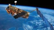Hatte die Erde bislang im Blick: Esa-Satellit Envisat