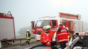 Geisterfahrer verursacht Unfall mit fünf Toten