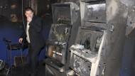 Mindestens neun Menschen soll durch die Explosion eines Spielautomaten in der Ukraine gestorben sein