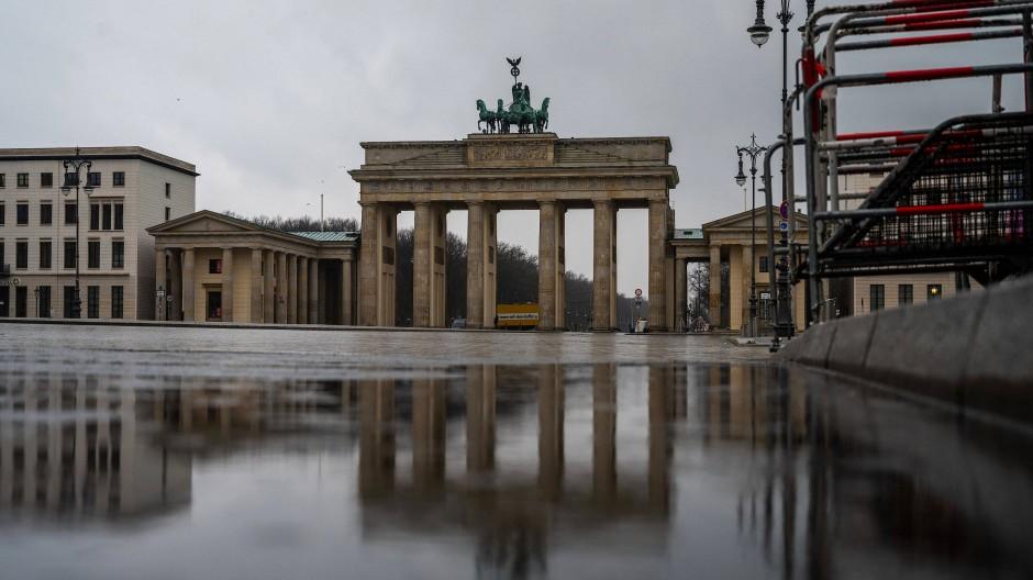Durchfahrt verboten: Brandenburger Tor in Berlin