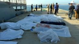 Dutzende Tote bei Überfahrt nach Europa