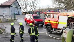 Verdacht auf Brandstiftung nach Großfeuer in Schweinemastanlage