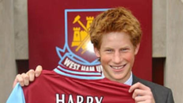 Prinz Harry wird 18