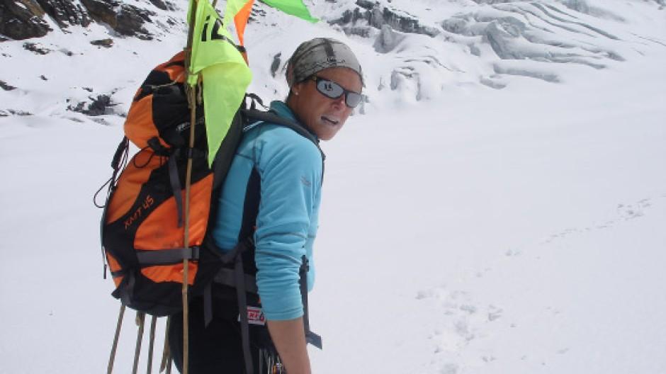 Auf dem Weg zum nächsten Gipfel: Edurne Pasabán