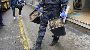 Sieben Festnahmen bei Drogenrazzien in NRW