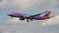 Ein Airbus 330 der Etihad (Symbolbild)