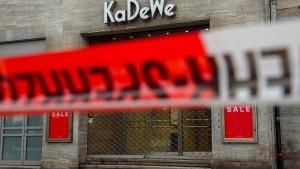 Berliner Luxus-Kaufhaus KaDeWe wird wieder zum Ziel von Einbrechern