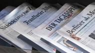 Ein Medienhistoriker gibt auch traditionellen Presseorgane eine Zukunft.