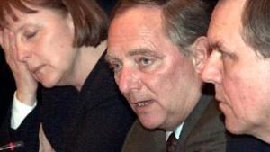 Merkel außen vor? Schäuble und Rühe treffen Vertreter der Regierung