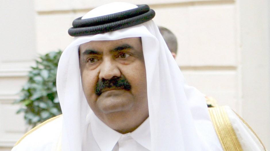 Verunglückt: Hamad bin Chalifa Al Thani, bis 2013 Emir von Qatar.