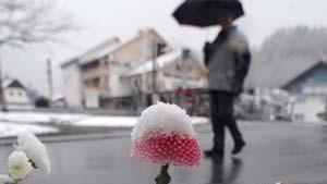 Wintereinbruch führt zu Schneechaos