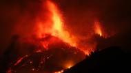 Vulkanausbruch auf La Palma: Die Lava verschlingt Häuser