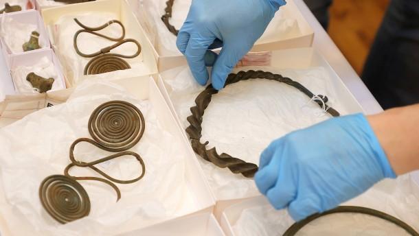 Schwedischer Hobby-Kartograph findet 2500 Jahre alten Schatz
