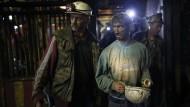 Fünf Bergleute in Kohlemine gestorben