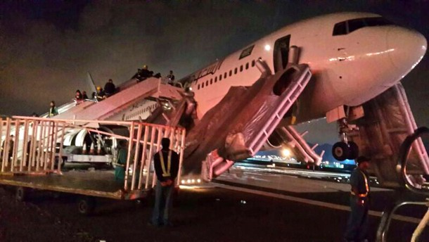 29 Verletzte bei Evakuierung einer Boeing