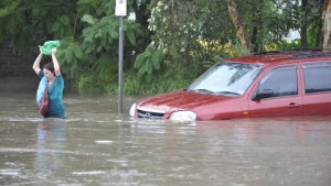 Tausende Häuser wegen Hochwassers evakuiert