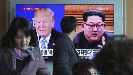 Nordkorea zu Gespräch mit Amerika über atomare Abrüstung bereit