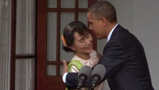 Der US-Präsdient würdigt Reformbemühungen in dem asiatischen Land