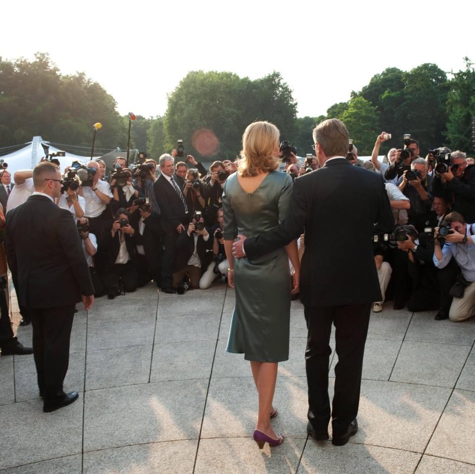 … beim Sommerfest des Bundespräsidenten 2010 in Berlin …