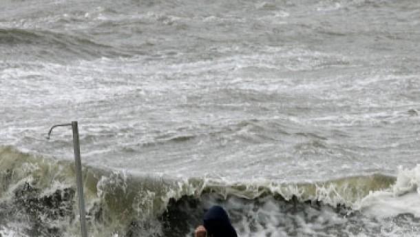 Sturm: Touristen sitzen auf Helgoland fest