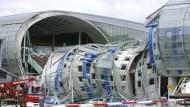 Der eingestürzte Teil des Terminals in Roissy