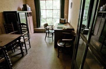 Blick ins Anne-Frank-Haus in Amsterdam - heute ein Museum
