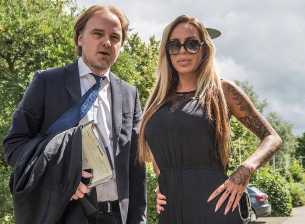 Gina-Lisa Lohfink vor Gericht