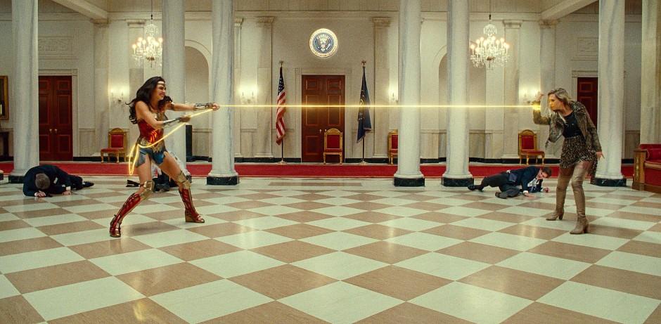 Große Feindschaft: Wonder Woman (links) gegen Cheehtah