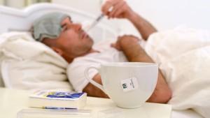 Ausgerechnet gesunde Erwachsene sind von Grippe stark betroffen