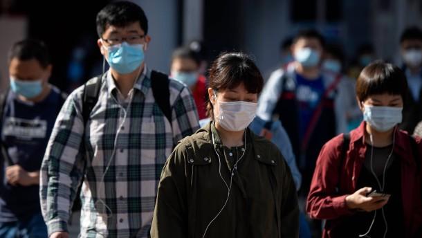 Millionenstadt in China wegen Corona-Risikos weitgehend abgeschottet