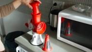 Küchenhobel mit festem Stand.