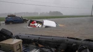 """Tropensturm """"Florence"""" hat Amerikas Ostküste weiter fest im Griff"""