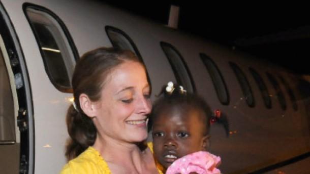 Waisenkinder ausgeflogen