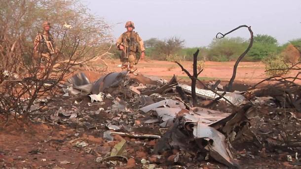 Keine Überlebenden nach Flugzeugabsturz in Mali