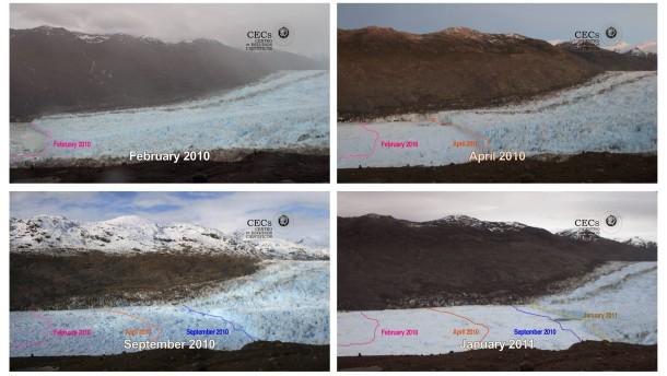 Dramatische Gletscherschmelze in Patagonien