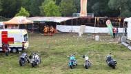 Schüsse auf Konzertgelände: Drei Tote und elf Verletzte