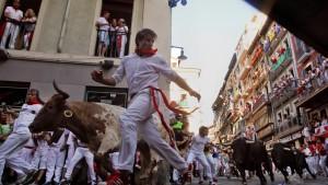 Fiesta mit Fahnenstreich