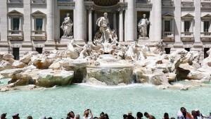 Schluss mit lustig für übermütige Touristen in Italien