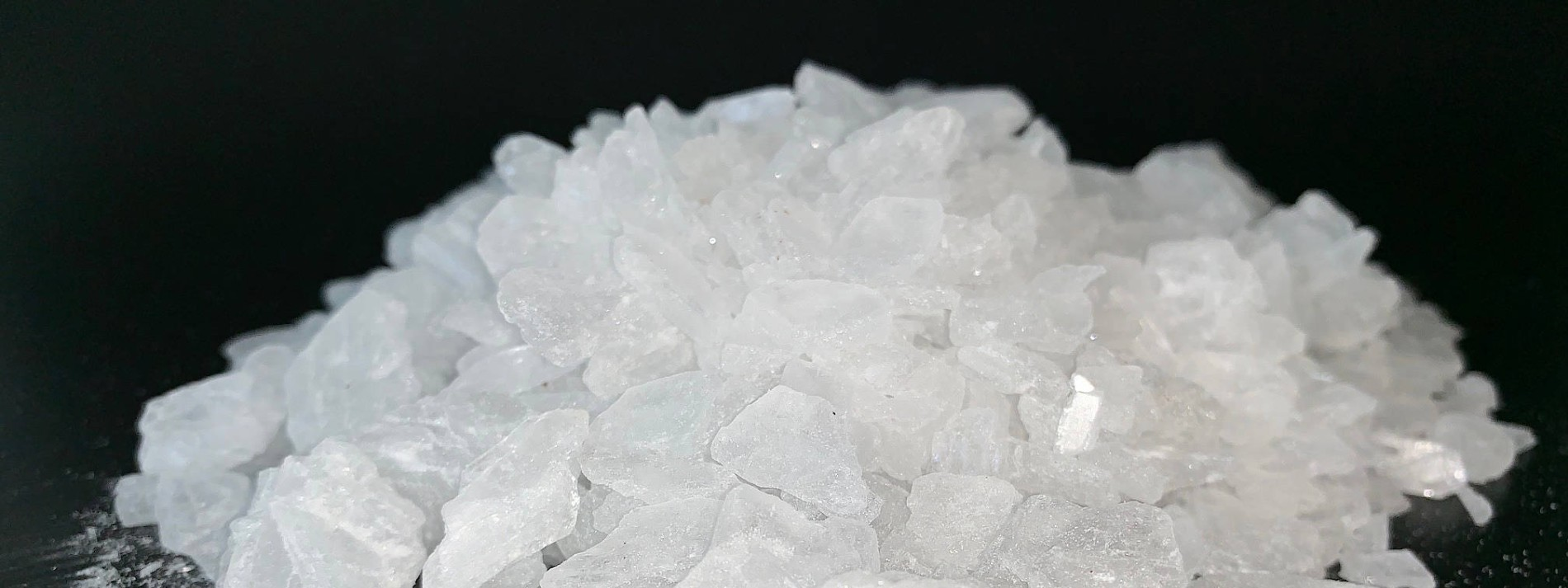what is in crystal meth