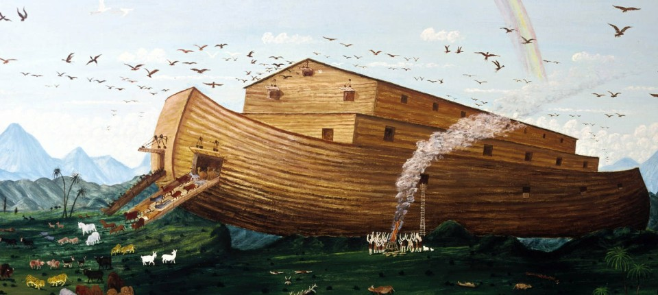 """Kreationisten bauen """"Arche""""-Fr..."""