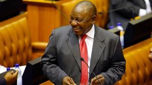 Ramaphosa in Südafrika als Präsident vereidigt