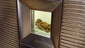 Wo starb Ötzi?