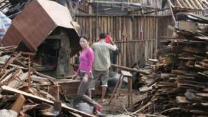 Mehr als 100 Tote und 200 Vermißte nach Taifun