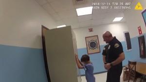 Bodycam filmt Verhaftung von achtjährigem Jungen