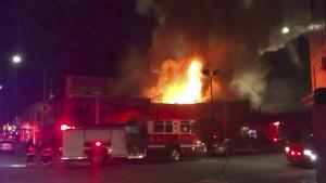 Weitere Tote nach Brand bei Lagerhaus-Party befürchtet