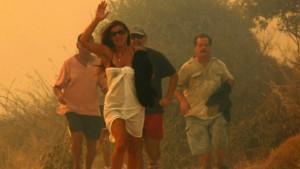 41 Tote bei Waldbränden in Griechenland