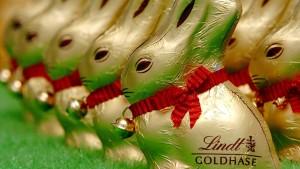 Nicht nur Lindt-Hasen dürfen golden glänzen