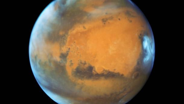 Die nasse Vergangenheit des roten Planeten