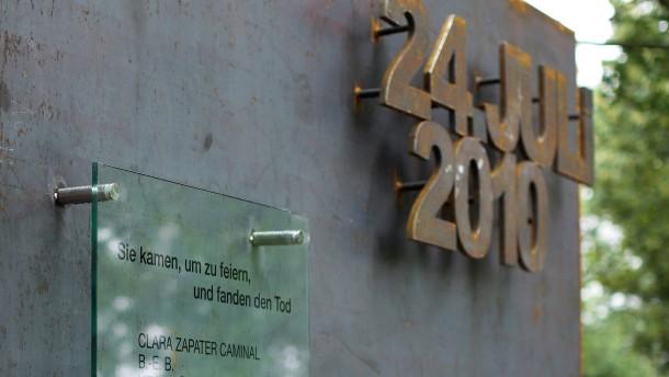 Gedenkstätte für Opfer der Loveparade-Katastrophe verwüstet